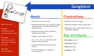 Googlebot Persona Profile