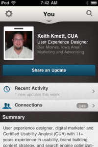 Keith Kmett Profile on LinkedIn
