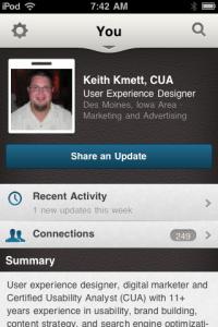 Keith Kmett Profile on LinkedIn