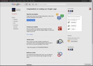 Google Plus Page Circles