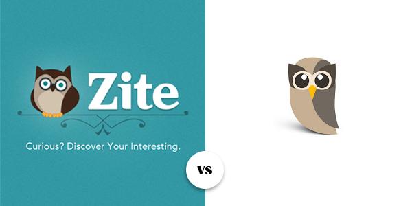 Zite 2.0 Owl vs. Hootsuite Owly